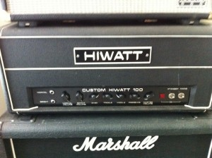 HiWatt and Marshall  - what a sound!